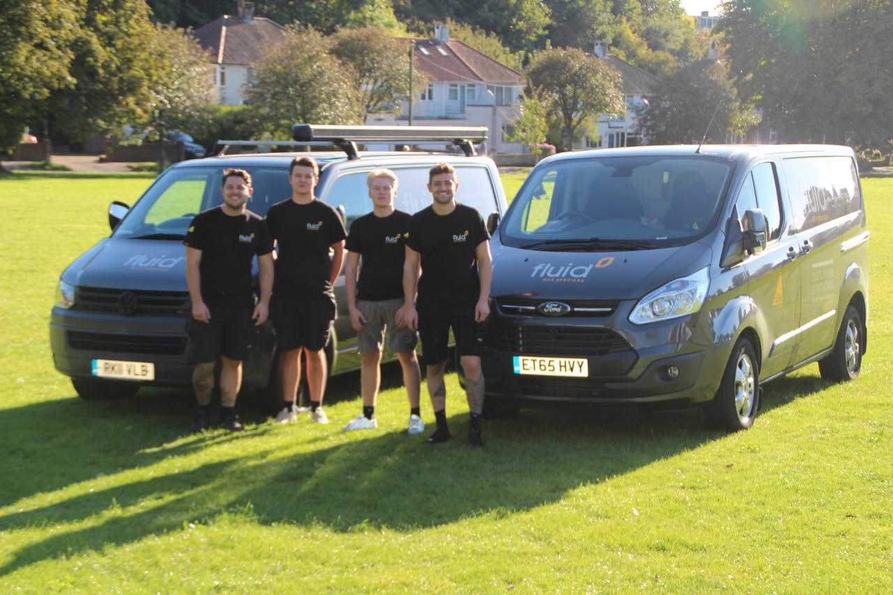 Heating Engineers with Vans
